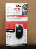 Mace Brand 130 dB Personal Alarm w/ Built-In Backup Whistle and Clip Black (C2)