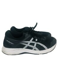 Asics Gel Contend Mens Black Running Shoes Sneakers 1011a252 Size 13 Extra Wide