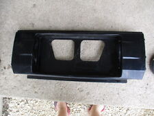 86 87 TOYOTA CELICA CENTER LICENSE PLATE HOLDER PANEL COUPE CONVERTIBLE USED OEM