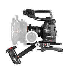 JTZ DP30 Camera Cage Baseplate Shoulder Rig For Canon EOS C100 C300 C500 Mark II