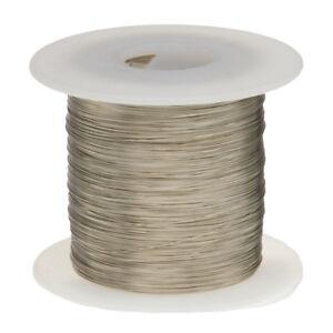 "16 AWG Gauge Nickel Chromium Resistance Wire Nichrome 80 100' Length 0.0510"""