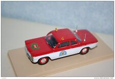 ELIGOR 1:43 AUTO DIE CAST CHEVROLET CORVAIR POMPIERS USA 1962 ROSSO BIANCO 1151