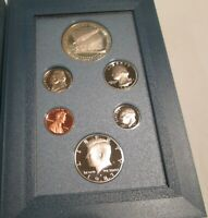 1987 Prestige Proof Set U.S. Mint COA Box 6 coin Constitution Silver Dollar