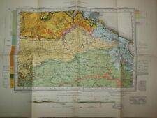 Vintage Geological Survey Map of Scarborough, Yorkshire (1952) Ordnance, Geology