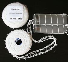 25 Meter Schinkennetz Bratennetz Rollbratennetz Durchmesser Max. 100MM 4 Maschen