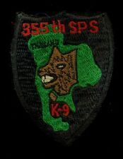 USAF 355th Security Police SQ K-9 Thailand Patch RP-1