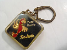PORTE CLES TELE RADIO RADIOLA