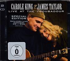 James Taylor & Carole King / Live at the Troubadour (CD & DVD , NEU!, NEW!)