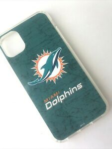Miami Dolphins Phone Case- iPhone 11 / 11 Pro / 11 Pro Max- Phone Cover-NFL-NEW