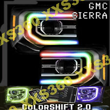 ORACLE for GMC Sierra 16-18 Headlight DRL Upgrade Kit COLORSHIFT 2.0 w/ remote