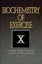 Biochemistry of Exercise X-ExLibrary