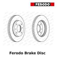 Ferodo Front Brake Disc (Pair) - 257mm, Vented - DDF1577 - OE Quality