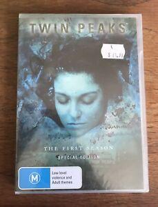 Twin Peaks Season 1 Special Edition DVD Region-4 Brand New & Sealed
