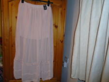 Stunning blush pink sheer skirt, part lined, ATMOSPHERE, size 8, New w TAG BNWT