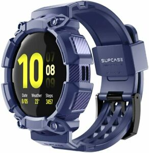 SUPCASE UBPro For Samsung Galaxy Watch Active 2 [44mm] Sporty Case Strap Bands