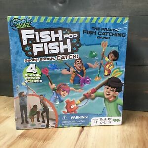 Survival Skillz! Fish for Fish-Ready,Steady,Catch! The Fish Catching Gam SEALED!