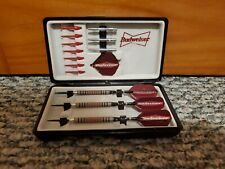 Budweiser DMI Metal Tip Darts with Case and Spare Parts