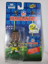 Nfl Headliners Reggie White Green Bay Packers Brand New Figure