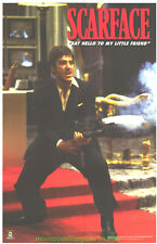 SCARFACE MOVIE POSTER  22x34  AL PACINO - SAY HELLO TO MY LITTLE FRIEND C.P.1001