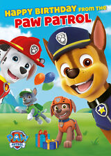 Talking birthday card ebay paw patrol talking sound birthday card free 1st class postage sc202 bookmarktalkfo Choice Image