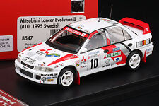 Lancer Evo II 1995 Swedish Rally **WINNER** -- snow tires! -- HPI #8547 1/43