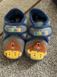 Next Hey Duggee Slippers Size 10