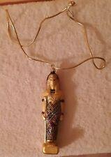 Kurt S. Adler Egyptian Polonaise Glass Ornament Vgc