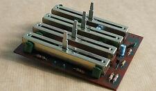 Pièce détachée Amplificateur SCOTT A436.Potentiomètres rectiligne TONE CONTROL.
