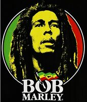 Bob Marley Reggae Zion Rootswear Black T Shirt Mens Size Small-3XL