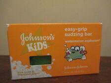 Johnson's Kids Easy Grip Sudzing Soap Bar Watermelon Explosion
