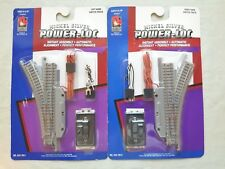 N SCALE MODEL TRAINS LIFE-LIKE ELECTRIC RIGHT LEFT HAND SWITCHES 4337811 4337810