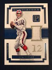 Jim Kelly 2017 Pantheon Gladiators Jersey Card, #66/99