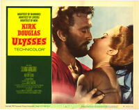 ULYSSES LOBBY CARD 11x14 Inch Size Movie Poster C#2 Re-Release 1960 KIRK DOUGLAS