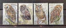 Belgium 1999 used - Bird owls - Oiseau hiboux et chouettes - Vogel uilen