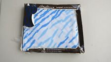 New Bill Blass by Springmaid Percale Flat Twin Sheet 66 X 104 Falling Waters