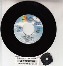 "B. B. KING  The Blues Come Over Me 7"" 45 vinyl record NEW + juke box title strip"