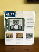 ***  Orbit 57894 4-Station (12) Timer Outdoor Swing Panel Sprinkler System   ***