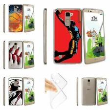 For LG Stylus 2 Plus   LG Stylo 2 Plus   K530 Clear TPU Case Basketball Sport