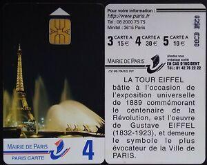 Carte de stationnement Paris/TELECARTE/CARTE A PUCE/  PIAF/telecartes OU AUTRES+