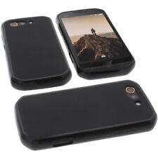 Funda para DOOGEE S30 Funda protectora de móvil TPU GOMA FUNDA NEGRA