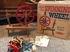 Remco Little Red Spinning Wheel