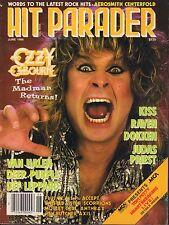 Hit Parader June 1986 Ozzy Osbourne, Kiss, Dokken 032917nonDBE2