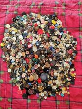 9 Lbs Mixed Lot Vintage Antique Sewing Buttons