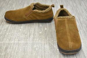 **Tempur-Pedic Warrick TP6150-241 Slipper, Men's Size 10 M, Brown NEW