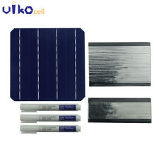 100PCS Mono Solar Cells 6x6 with wire flux pen For DIY Solar Panel