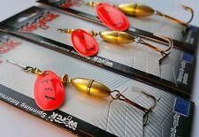 Blinker Spinner Wirek 16,5g,8g,5,5g ,Kunstköder Spinnfischen/3 Stück