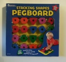 Learning Resources Stacking Shapes Pegboard - Theme/subject: Learning - Skill