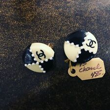 Vintage Authentic CHANEL Earrings-ON SALE FOR W/E