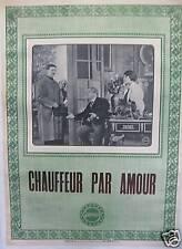 CHAUFFEUR PAR AMOUR - 1912 - Louis FEUILLADE -  GAUMONT