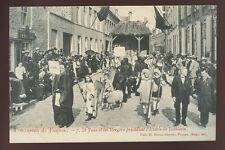 Belgium Procession de FURNES  VEURNE No7 early PPC